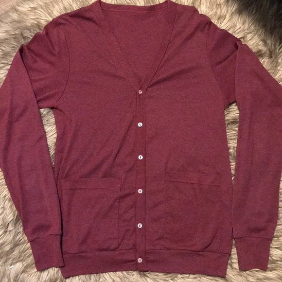 American apparel cardigan with pockets size small